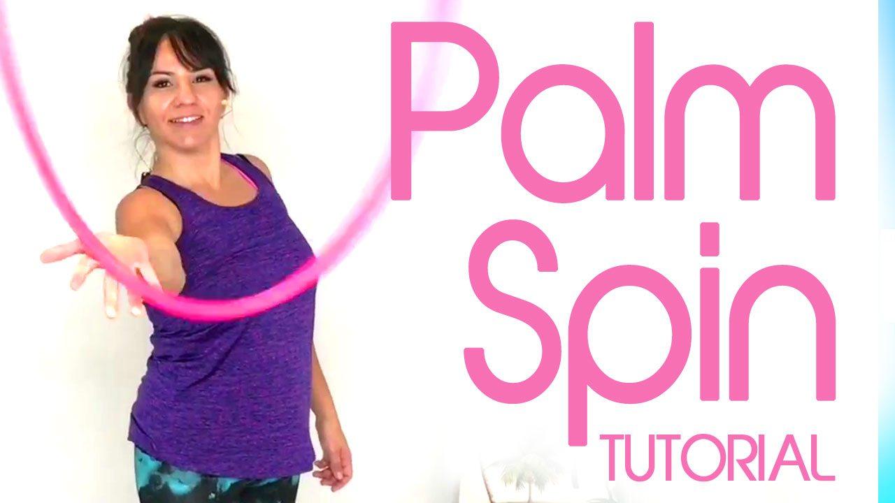 palm spin hoop tutorial