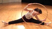 stretching-with-a-hula-hoop