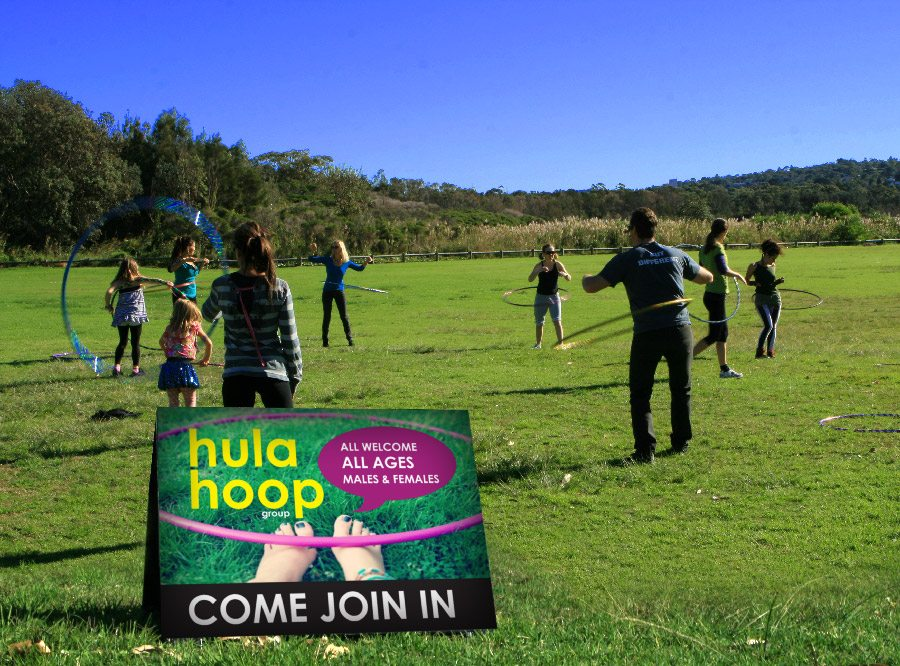 Hula Hoop Group Dee Why Beach