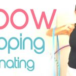 elbow hula hooping alternating arms