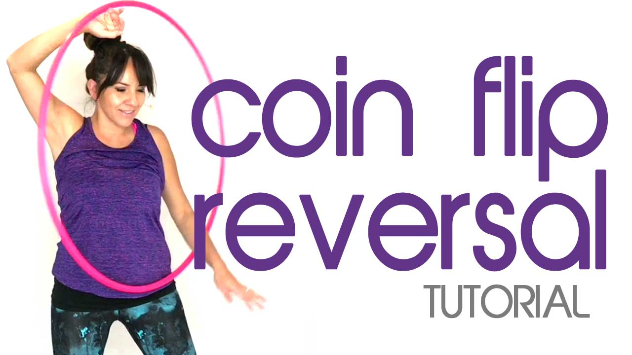 coin flip hula hoop trick