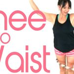 knee hula hooping to waist tutorial