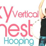 sky vertical chest hula hooping
